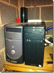 My ESXi Server (on the right)